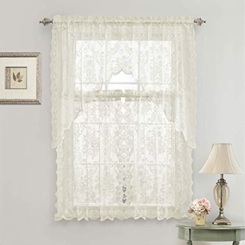 cortinas cocina beige