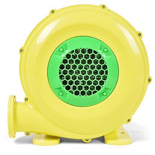 COSTWAY Gebläse Luftpumpe Ventilator Windmaschine Lüfter elektrisch für aufblasbare Spielzeuge 580m³/H 1500Pa(380W)