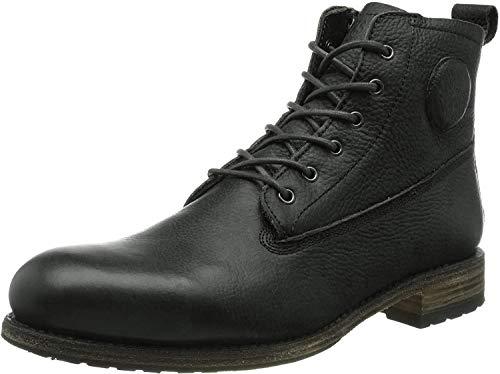 Blackstone Herren MID LACE UP FUR Chukka Boots, Schwarz (Black), 46 EU