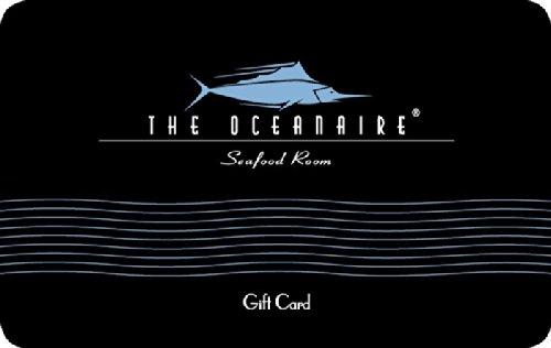 2021 new Ranking TOP4 Oceanaire Restaurant Card Gift
