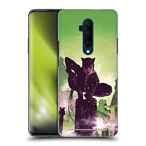 Head Case Designs sous Licence Officielle Batman DC Comics Une célébration de 75 Ans Catwoman Coque Dure pour l'arrière Compatible avec OnePlus 7T Pro