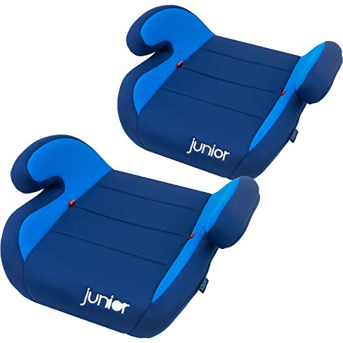 Petex Auto-Kindersitzerhöhung Max 102 ECE-Gruppe 2-3, Kinder von ca. 3,5-12 Jahre|15-36 kg, blau