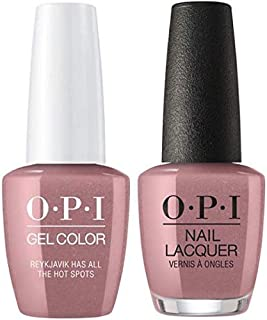 Reykjavik Has All The Hot Spots Nail Lacquer + Gel New Bottle I63