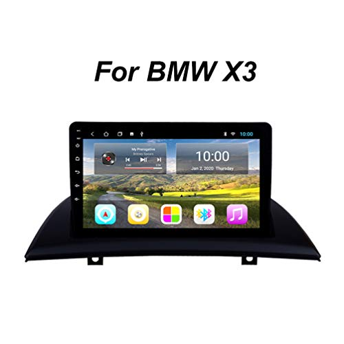 Navigation FüR LKW PKW KFZ 9-Zoll Touchscreen Navi Android 9 Autoradio Radio Navigationssystem, FüR BMW X3 E83 2004-2012 Support WiFi/Bluetooth/USB/SD/AUX (EU-Stecker),Wifi: 2+32g