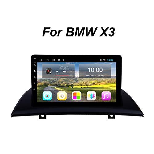 Navigation FüR LKW PKW KFZ 9-Zoll Touchscreen Navi Android 9 Autoradio Radio Navigationssystem, FüR BMW X3 E83 2004-2012 Support WiFi/Bluetooth/USB/SD/AUX (EU-Stecker),Wifi: 2+32g