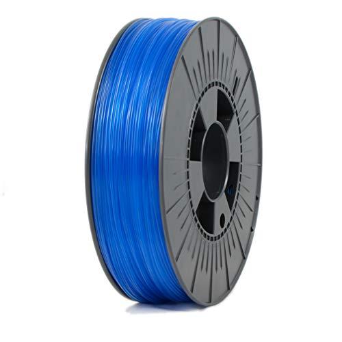 ICE Filaments ICEFIL1PET151 PET filamento, 1.75mm, 0.75 kg, Transparent Bold Blue