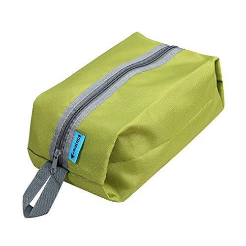 Sac de voyage étanche multifonction multifonction avec poignée de sac à main organisateur de sacs à main pour articles de toilette, linge de chaussures, sac de rangement grand espace (vert)