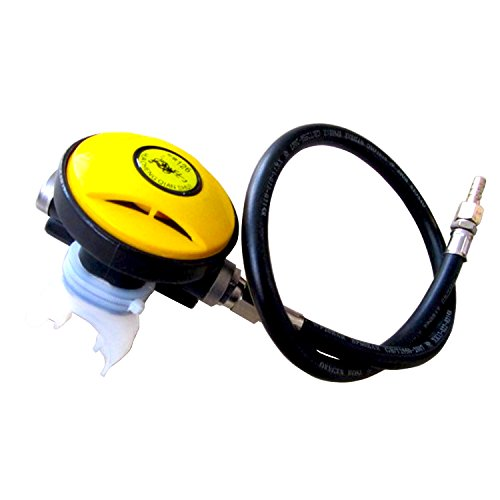 Hanperal 145 PSI Explorer Scuba Diving Dive 2nd Stage Regulator Octopus Hookah, Hookah Dive Regulator