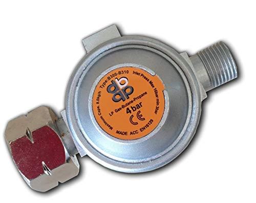 AW-TOOLS Druckregler 4bar Gas Regler Druckminderer Abflammgerät Propan Butangas