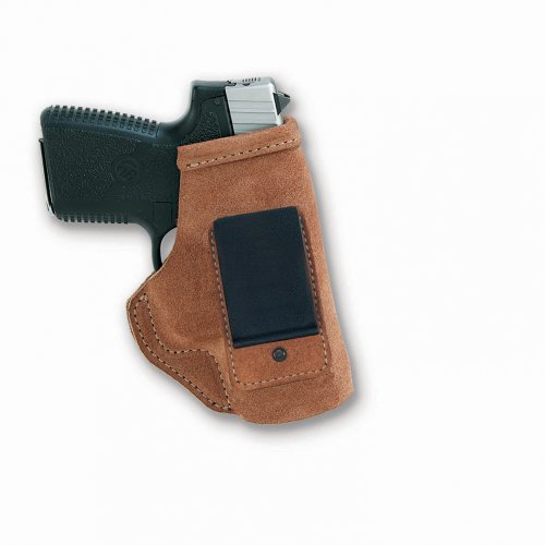 Galco Stow-N-Go Inside The Pant Holster for 1911 4-Inch, 4 1/4-Inch Colt, Kimber, para, Springfield, Smith (Natural, Right-Hand)