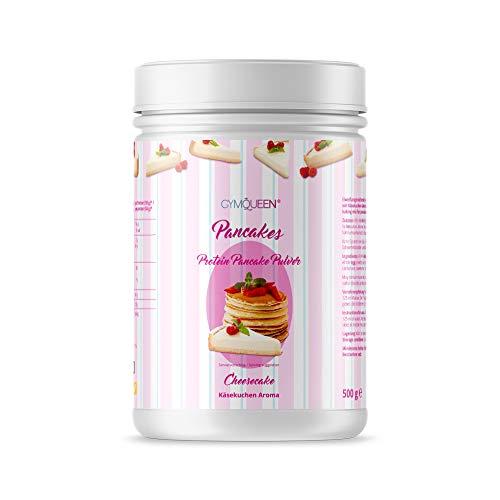 GymQueen Protein Pancakes 500g | Pancake Mix mit 55% Eiweiß | Cheesecake