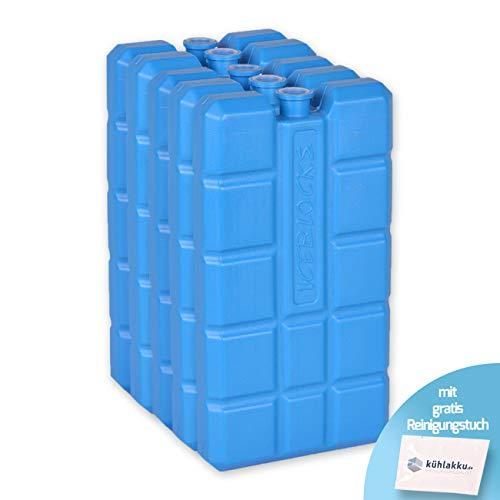 Connabride - Lot de 5 blocs réfrigérants de 200ml