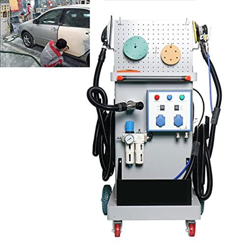 Equipo De Pulido De Imprimación Automática, 12000 Rpm, Dos Cabezales De Pulido, Dos Motores, Utilizado Para El Pulido De Automóviles Y El Pulido De Muebles