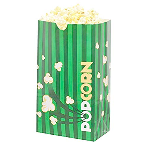 Lowest Price! Popcorn Supply | Laminated Popcorn Bags | Select-A-Size (130 Ounce)