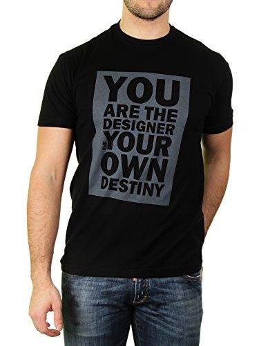You Are The Designer of Your Own Destiny––Camiseta para hombre de resaca likoli Negro Profundo Negro