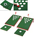 SPRAWL Golf Pong Cornhole Game Set Chipping Boards Golf Sport Game Golf Practice Training for Indoor/Outdoor Ideas