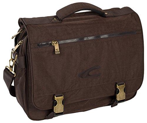 camel active, Messenger Bag, Herren, Umhängetasche, Arbeitstasche, Business Tasche, Schultertasche, Journey, Beige