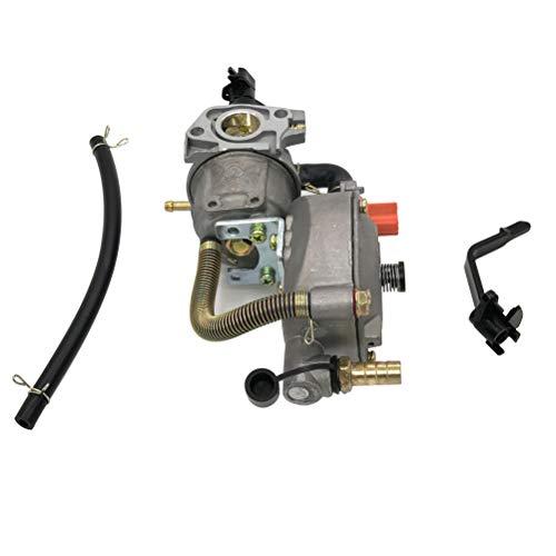 Cancanle Carburador de Doble Combustible Kit de Conversion para Honda GX160 GX200 2KW 3KW de GLP/GNC Carburador Doble Combustible Gasolina