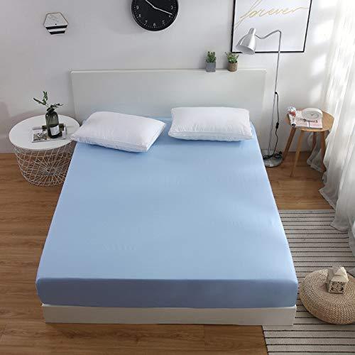 IKITOBI Luxury Bedding - Sábanas bajeras extra profundas (100 x 200 cm)