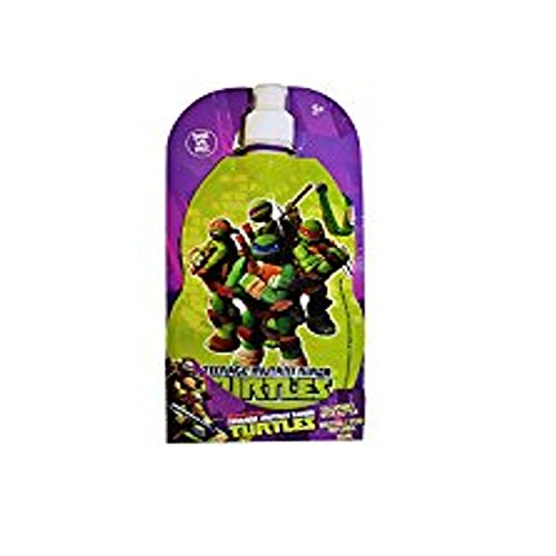 Teenage Mutant Ninja Turtles Collapsible Water Bottle 380ml Sans BPA Free