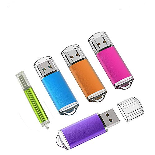 5 unidades 2.0/3.0 USB Flash Drive Pen Drive Memory Stick Stick Pen Pen Pen Stick Pen Pen Black (3.0/8GB)
