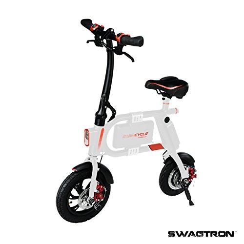 Swagtron SwagCycle E-Bike – Folding Electric...