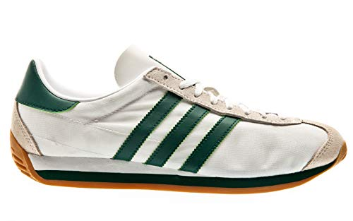 adidas Originals Country OG, Footwear White-Collegiate Green-Clear Brown, 4,5