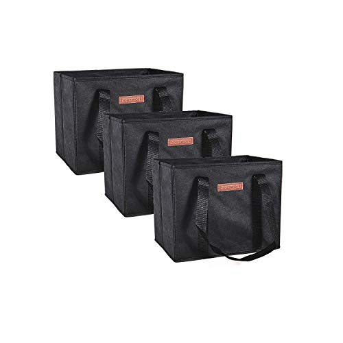Premium Quality Reusable Grocery Bags Heavy Duty Handles With...