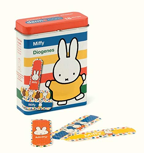 Miffy Pflaster 6er Set: 6 Boxen mit 18 Stripes