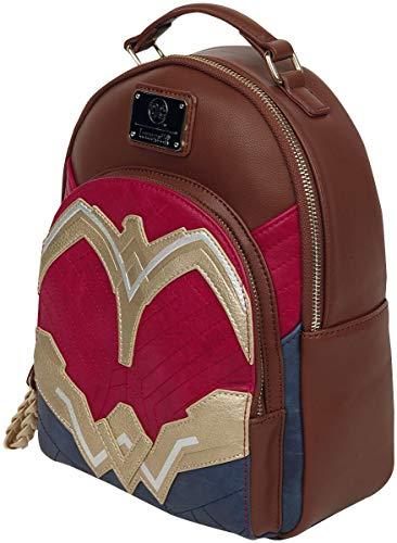 Wonder Woman Faux Leather Mini Backpack Standard