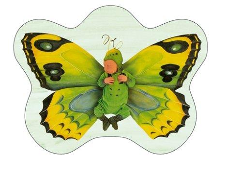 Schmidt Spiele - Anne Geddes, Grünes Schmetterlingskind, 700 Teile Puzzle