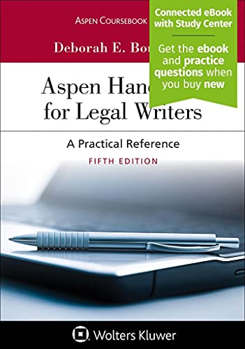 Compare Textbook Prices for Aspen Handbook for Legal Writers Aspen Coursebook Series 5 Edition ISBN 9781543809213 by Bouchoux, s E.