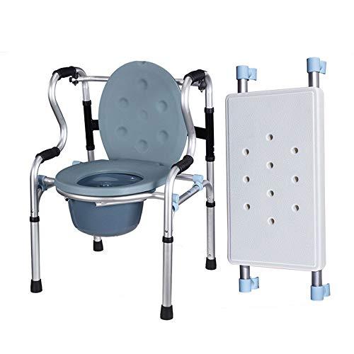 MYYLY rolstoelen rolstoel rolstoel met zittende rolstoel met wiel met armleuning opvouwbare douchestoel, vrij om te schakelen toilet/zit/wiel, in hoogte verstelbaar (Maat: Walker2)