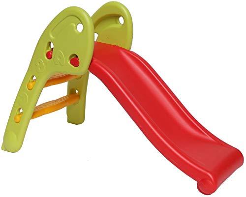 Clarmaro 'New Baby Adventure V2' Kinder Spielplatz Rutsche mit 80 cm Länge für Kleinkinder und Babys,...