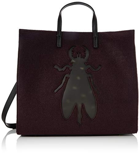 FLY London Damen AMUR702FLY Handtasche, Dk Wein, One Size