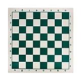 Andux Chess Game Tablero de ajedrez Enrollable XQQP-01 (Verde, 33 * 33 cm)