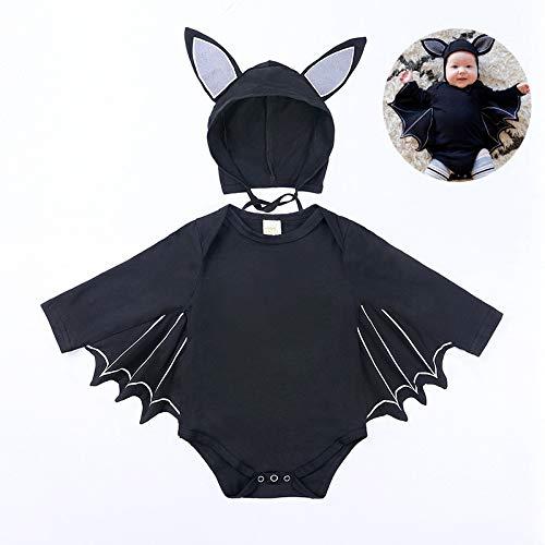 Cartoon Halloween Bat Pasgeboren Kleren, Mannen En Vrouwen Dikke Warm Winter Panty Katoen Baby Kleding Om Klimmen Gewicht 5~12 Kg