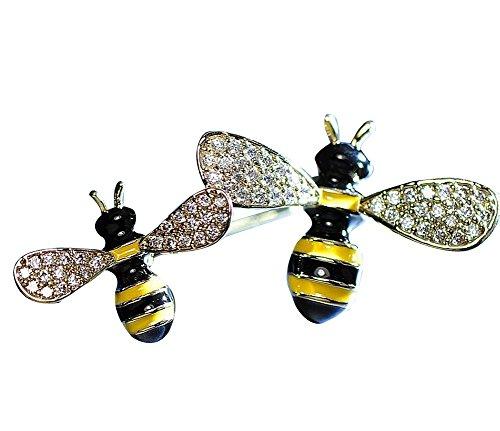 Neue Kleidungs-Zusätze Spezielle Bienen-Form-Frauen-Brosche