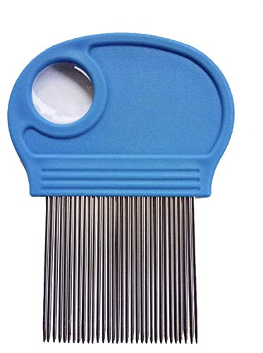Head Lice Comb With Magnifying Tool to Detect Lice Effectively removes Lice Nits and Lice Eggs Suitable for all hair types