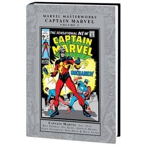 Captain Marvel Nos. 10-21 - Book #82 of the Marvel Masterworks