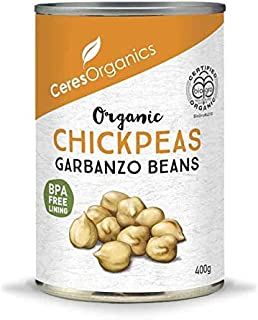 Ceres Organics Organic Chickpeas, 400 g