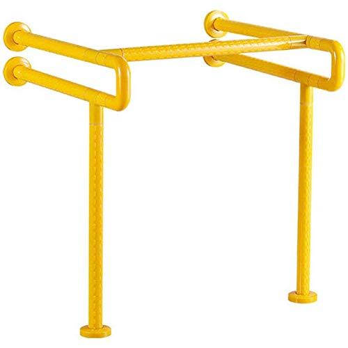 AQAWAS Aufstehhilfen, Dusche Wc Griff Toiletten Sicherheits Haltestange Für Behindertenhilfe Und Altenhilfe Toilettenstützgestell Wc-aufstehhilfe,Yellow