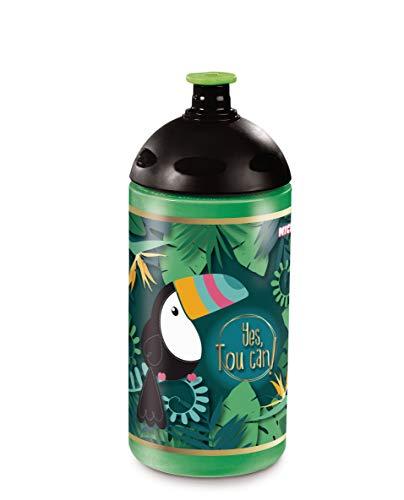 Nici 45451 Trinkflasche, Tukan, 0,5l, grün