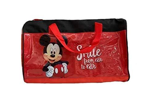 Bolsa Infantil Mickey Mouse Vermelha Disney Licenciado