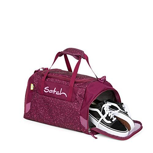 Satch Sporttasche - 25l, Schuhfach, gepolsterte Schultergurte - Berry Bash - Beere