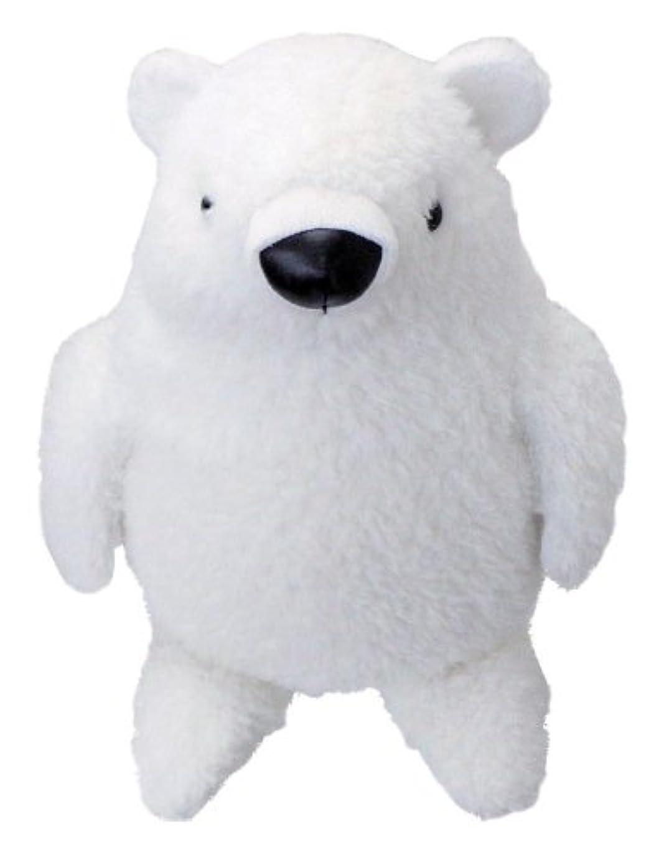 検出マイナスピラミッドアニマル ティッシュカバー 水曜日のクマさん(ホワイト)