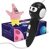Pluma de Impresión 3D, Bolígrafo 3D Transmisión voz Inteligente SUNLU con Pantalla LED, Bolígrafo 3D con Control de Una Tecla, dos Paquetes de Recargas de Filamento PLA, Alimentado por USB