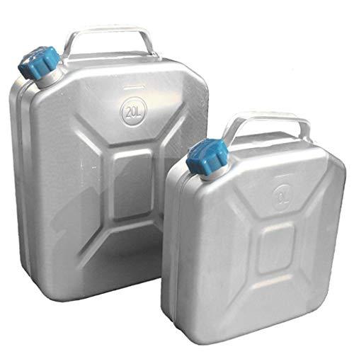 Edelstahl-Kanister Behälter Benzin Kanister Öl Container 20Liters Auto ATV Motorrad-Zubehör Kraftstoff,10L