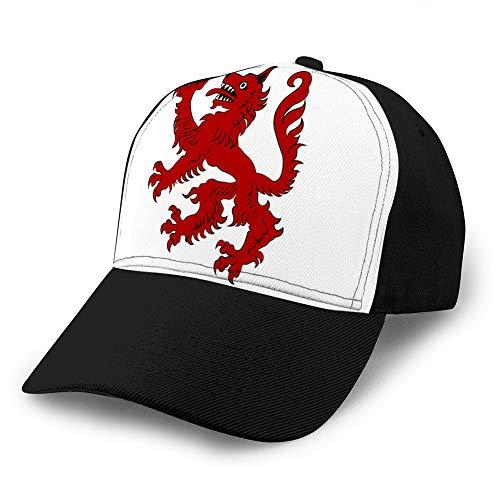 Baseball Caps Trucker Caps Bones Hip Hop Hats for Men Women Flag of Passau City in Lower Bavaria City in Cotton Baseball Cap