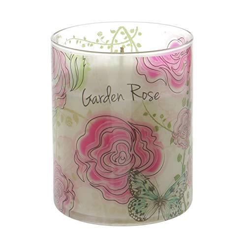 candele profumate kasanova Rosa candela profumata in barattolo Garden Rose